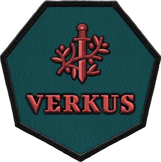 verkus_embroidered_patch_green_red